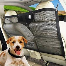 Pet Dog Safety Travel Isolation Net Car Truck Van Back Seat Barrier Mesh Guard