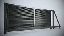 Design Flügeltor, Pforte, Eisentor, Einfahrtstor, Hoftor, Tür, Schiebetor