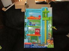 Fisher Price Little People Friendly Place apartment building only Hotel pool gym