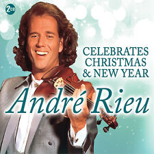 Andre Rieu - New Years Concert - & Christmas 2 CD Set  - BRAND NEW SEALED