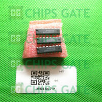 3PCS M54567P Encapsulation:DIP-16,4-UNIT 1.5A DARLINGTON TRANSISTOR ARRAY