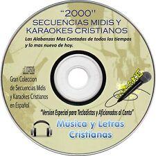 KARAOKES CRISTIANOS Y SECUENCIAS MIDIS / 2000 KARAOKES PARA TECLADISTAS