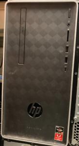 HP Pavilion 590-p0044 256GB SSD, AMD Ryzen 5 3.6 GHz, 8GB RAM, Tower PC - 3LA79A