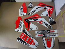 Honda CR 125 250 00-01 FLU PTS3 Graphics Sticker Decals Kit Motocross