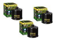 Race Oil Filter 3-Pack for APRILIA 2009-14 RSV1000 RSV4 R HF138RC