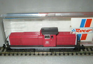 ROCO N 23254 DB CLASS BR 290 DIESEL LOCOMOTIVE SWITCHER EP IV TESTED BOXED