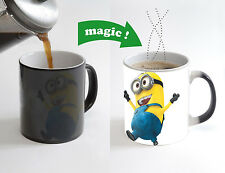 Minion Magic Color Changing Heat Sensitive Tea Cup Coffee Mug