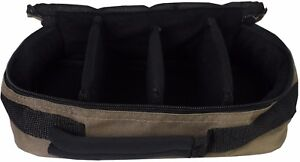 4 Compartment Lead Weight or Bite Alarm Pouch Carry Bag Carp Fishing Luggage 220
