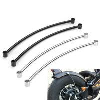 2x Heckfender Winkel Bracket Mount Halterung 10mm für Harley Cruiser