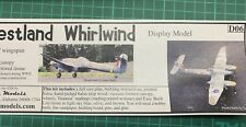 EASYBUILT WESTLAND WHIRLWIND FIGHTER - NEW IN BOX