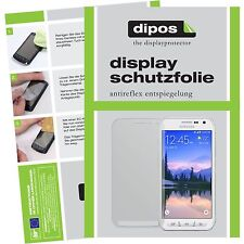 2x Samsung Galaxy S6 Active Schutzfolie Display Folie S 6 ACTIVE matt dipos