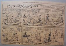 Squire Blossom by Frank Crane from 6/18/1916 Half Page Size Early Country Humor