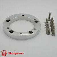 """1/2"""" Steering Wheel Spacer Kit for 6 hole Steering Wheel to 5 hole Adapter"""