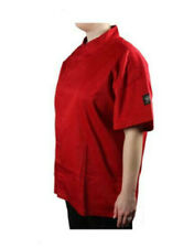 New Chef Revival Chef's Cool Crew Fresh Tomato Jacket - Snap Button - Xs