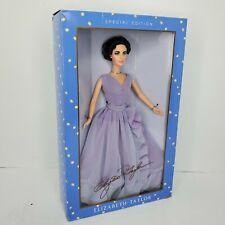 2000 ElizabethTaylor White Diamonds Barbie  Violet  Dress &  Eyes #28076 NRFB