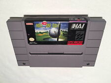 Hole in One Golf (Super Nintendo SNES) Game Cartridge Excellent!