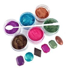 6 Pearlized Mica Powder Kit For Resin Casting