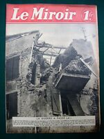 "Western & Norwegian Fronts - 1940 WW II French Magazine ""Le Miroir"""