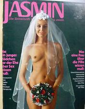 Jasmin 1971 Zeitschrift Boulevard Model Akt Erotik Brust nackt nude breast Sex