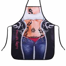 Novelty Tattoo Lady Character Sexy Funny Kitchen BBQ Cooking Apron