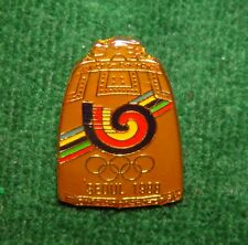 1988 Seoul Olympics Pin - Large Bell With Seoul Logo