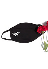 Wonder Woman Face Mask Reusable Washable Triple Layer Cotton Cloth Cover USA