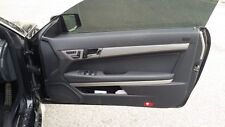 MERCEDES BENZ E CLASS W207 A207 COUPE CONVERTIBLE LEATHER DOOR CARD RIGHT 2012