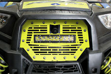 Steel Grille for RIDE COMMAND Polaris RZR 1000 XP 17+ LED LIGHT BAR Lime Squeeze