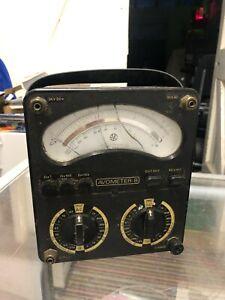 AVO Avometer Model 8 Mk. V Vintage Test Meter Multimeter Mk. 5 Universal