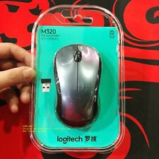 Genuine boxed Logitech M320 office / power saving / home / large wireless mouse