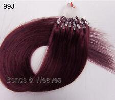 """16"""" 18"""" 20"""" micro ring micro loop easy loop hair extensions human remy 1 gram"""