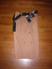 NWT ENYCE a SEAN COMBS CO. DUSTY TAN CARGO SHORTS SZ:44