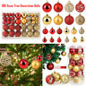 24/100Pcs Christmas Xmas Tree Ball Bauble Home Party Ornament Hanging Decor Lot