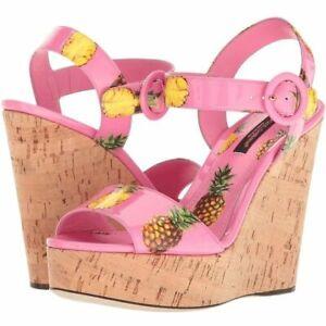 Dolce & Gabanna Women's Wedge Heels, size 39.5, NEW