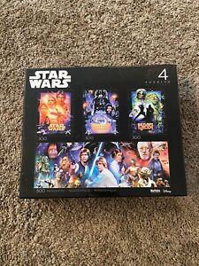 Star wars jigsaw Buffalo Disney  - 4 in the box!