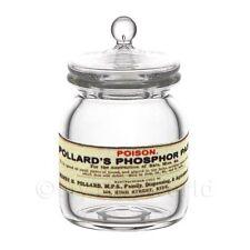Miniatura Per Casa Delle Bambole Fosforo Pasta In Vetro Farmacista