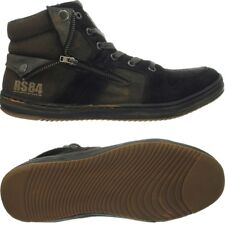 Redskins Minski black/khaki men's shoes high-top-sneakers All-over-used-look NEW