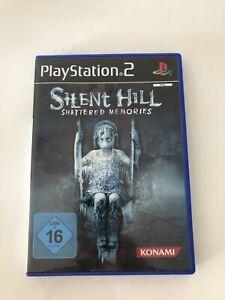 Silent Hill  Shattered Memories PS2 mit Anleitung, sehr guter Zustand
