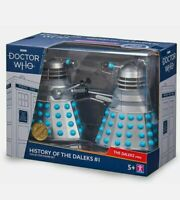 DOCTOR WHO HISTORY OF THE DALEKS COLLECTOR FIGURE SET #1 - THE DALEKS 1963