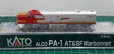 N Scale KATO PA-1 'Santa Fe Warbonnet' DCC Ready Item #176-4121