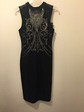 BNWT black Kim kardashian Limited Edition High Neck Formal Dress 10