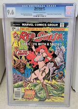 Red Sonja #1 (1977) CGC 9.6 - 1st Solo title Marvel Comics Key