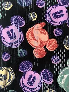 NWT LuLaRoe Disney Leggings TC2 Mickey Mouse Scribble Dots 201230