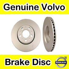 Genuine Volvo S60 (-09) Front Brake Discs (286mm Diameter) (Pair)