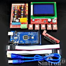 3D Printer RAMPS 1.4 + Mega 2560 + 5X A4988 + LCD 12864 Controller for RepRap