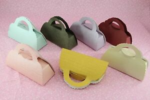 "Purse Handbag Favor Gift Box 3.75""x1.5"" Wedding Candy Jewelry 25 50 100 200"