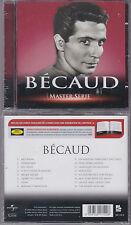 CD 16T GILBERT BECAUD MASTER SERIE BEST OF 2005 NEUF SCELLE