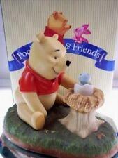 Pooh & Friends Pooh Figurine with Bird Friend Nest Nib * Free Usa Shipping