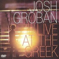 Live at the Greek by Josh Groban CD & DVD 2004, Reprise Remember When It Rained
