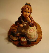 Yesterdays Child 1995 Boyds Stuff  Icing on the Cake